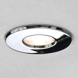 Astro Kamo Polished Chrome Bathroom LED Downlight