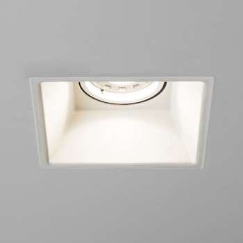 Astro Minima Square GU10 White Downlight
