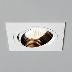 Astro Aprilia 6.1W Square White Fire-Rated Adjustable LED Downlight - 2700K