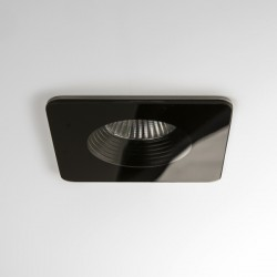 Astro Vetro Square Black Fire-Rated Bathroom LED Downlight