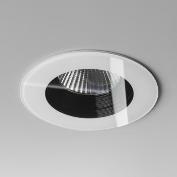 Astro Vetro Round White Fire-Rated Bathroom LED Downlight