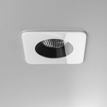 Astro Vetro Square White Bathroom LED Downlight