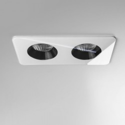 Astro Vetro Twin White Bathroom LED Downlight