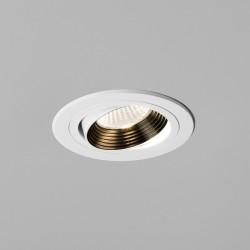 Astro Aprilia 6.1W Round White Adjustable LED Downlight - 3000K
