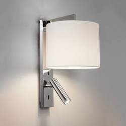 Astro Ravello Polished Chrome Wall Light with LED Reading Light