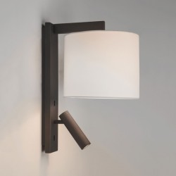Astro Ravello Bronze Wall Light with LED Reading Light