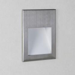 Astro Borgo 54 3000K Brushed Stainless Steel Bathroom LED Wall Light