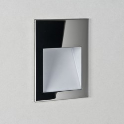 Astro Borgo 54 3000K Polished Stainless Steel Bathroom LED Wall Light