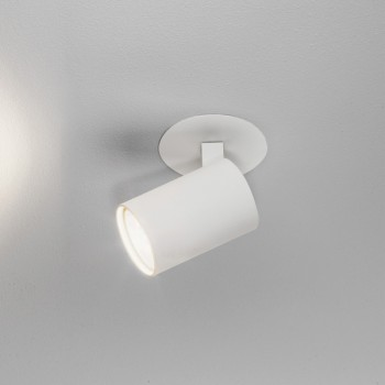 Astro Ascoli Single Recessed White Spotlight