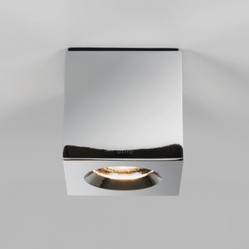 Astro Kos Square Polished Chrome Bathroom Downlight