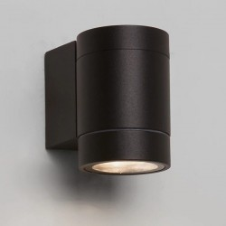 Astro Dartmouth Single Textured Black Outdoor LED Wall Light