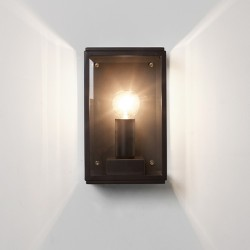 Astro Homefield 130 Black Outdoor Wall Light