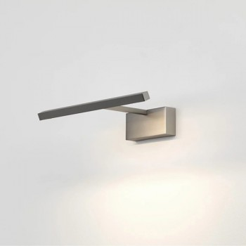 Astro Mondrian 300 Wall Mounted Matt Nickel LED Picture Light