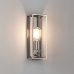 Astro Messina 130 Polished Nickel Outdoor Wall Light