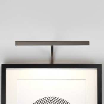 Astro Mondrian 300 Frame Mounted Bronze LED Picture Light