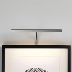 Astro Mondrian 300 Frame Mounted Matt Nickel LED Picture Light