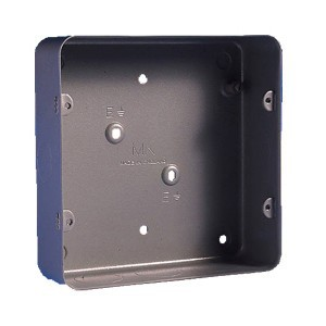 MK Metal Clad Six and Eight Gang Flush Back Box