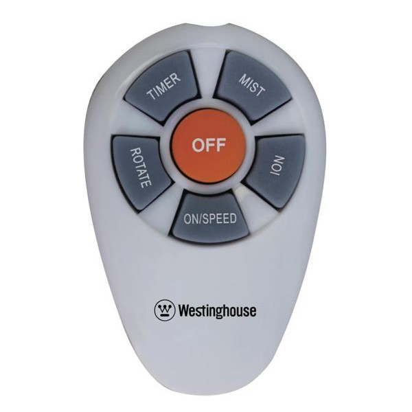 Westinghouse portable pedestal fan with misting feature and remote Casacata