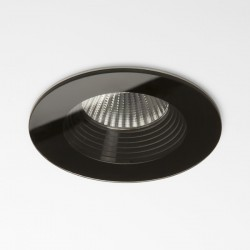 Astro Vetro Round Black Bathroom LED Downlight