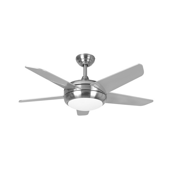Fantasia eurofans neptune 44 inch remote control brushed nickel fantasia eurofans neptune 44 inch remote control brushed nickel ceiling fan with matt silver blades and light aloadofball