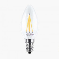 Segula Ambient Line 4W 2000-2900K Dimmable E14 Clear Candle LED Bulb