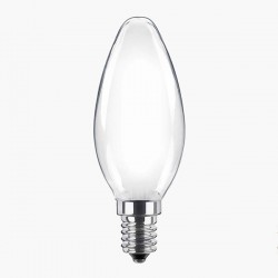 Segula Classic Line 2W 2700K Non-Dimmable E14 Frosted Candle LED Bulb