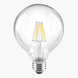 Segula Classic Line 8W 2700K Non-Dimmable E27 Clear Globe 95 LED Bulb