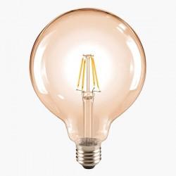 Segula Classic Line 6W 2400K Non-Dimmable E27 Golden Globe 125 LED Bulb