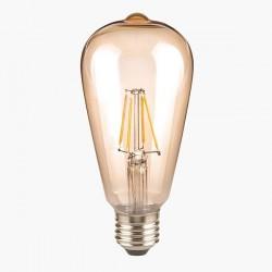 Segula Classic Line 4W 2400K Non-Dimmable E27 Golden Rustica LED Bulb