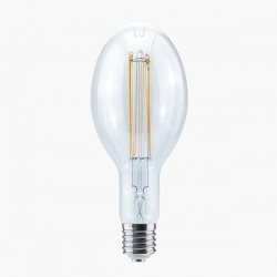 Segula Design Line 18W 2200K Dimmable E40 Clear Grand Ellipse LED Bulb with Curved U Filament Plus