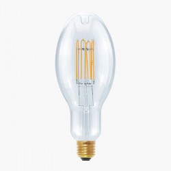 Segula Design Line 10W 2200K Dimmable E27 Clear Grand Ellipse LED Bulb with Curved U Filament Plus