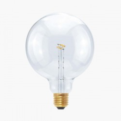 Segula Design Line 2.7W 2200K Dimmable E27 Clear Globe 125 LED Bulb with Curved Point Filament Plus