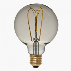 Segula Design Line 4W 2200K Dimmable E27 Golden Globe 125 LED Bulb with Curved Filament