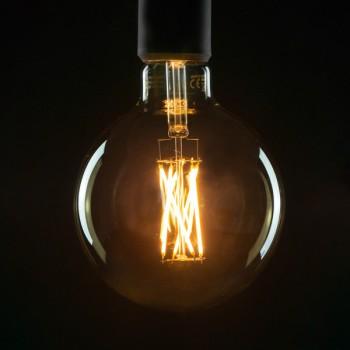 Segula Vintage Line 6W 2000K Dimmable E27 Smokey Grey Globe 125 LED Bulb
