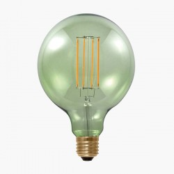 Segula Design Line 6W 2000K Dimmable E27 Smokey Green Globe 125 LED Bulb