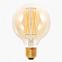 Segula Vintage Line 6W 2000K Dimmable E27 Golden Globe 95 LED Bulb