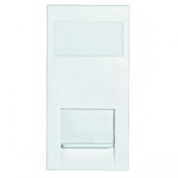 Hamilton EuroFix 50X25mm Modular Phone Master White with White Insert