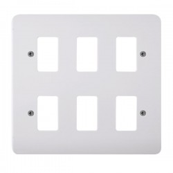 Click Mode GridPro 6 Gang Front Plate
