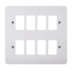 Click Mode GridPro 8 Gang Front Plate