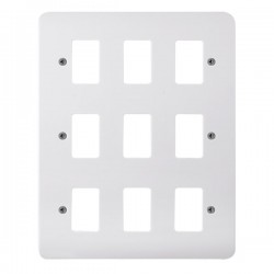 Click Mode GridPro 9 Gang Front Plate