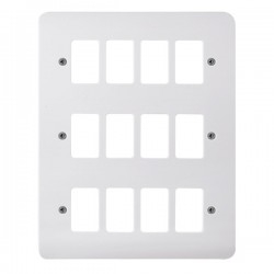Click Mode GridPro 12 Gang Front Plate