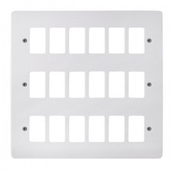 Click Mode GridPro 18 Gang Front Plate