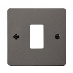 Click Define GridPro Black Nickel 1 Gang Front Plate