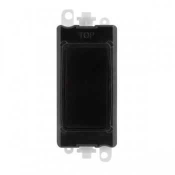 Click GridPro Black Blank Module with Black Insert