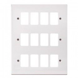 Click Polar GridPro 12 Gang Front Plate