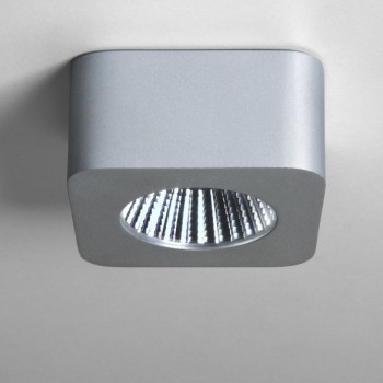 Astro Samos 2700K Square Anodised Aluminium LED Downlight