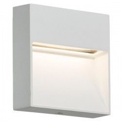 Knightsbridge 4W Square White LED Wall/Guide Light