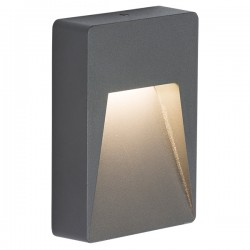 Knightsbridge 2W Anthracite LED Guide Light