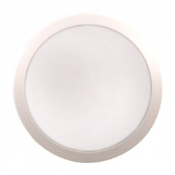 Click Ovia Inceptor Evo 12W White LED Bulkhead with Emergency Backup