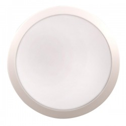 Click Ovia Inceptor Evo 12W White LED Bulkhead with Microwave Sensor